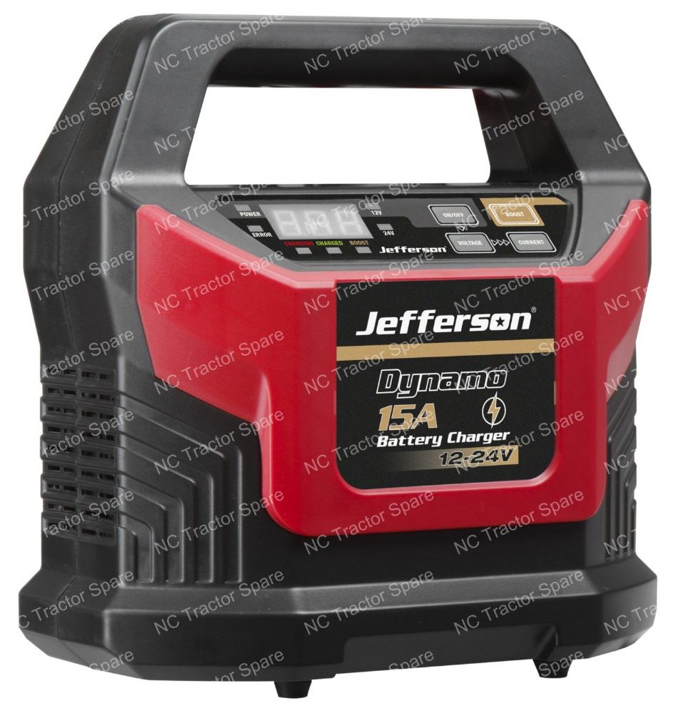15A Battery Charger 12-24V (20A 300sec Booster)